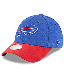 New Era Women's Buffalo Bills On Field Sideline Home 9FORTY Strapback Cap