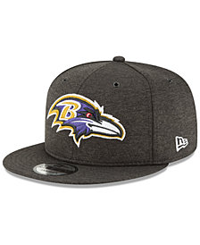 New Era Baltimore Ravens On Field Sideline Home 9FIFTY Snapback Cap