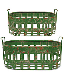 3R Studio Metal Baskets, Set of 2