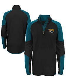 Outerstuff Jacksonville Jaguars Beta Quarter-Zip Top, Big Boys (8-20)