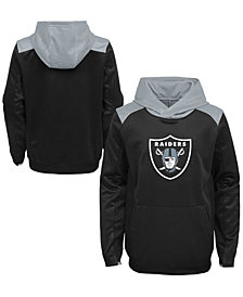 Outerstuff Oakland Raiders Off The Grid Hoodie, Little Boys (4-7)