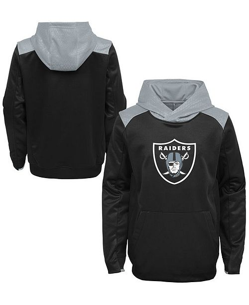 timeless design 40472 92165 Oakland Raiders Off The Grid Hoodie, Little Boys (4-7)