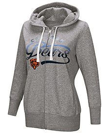 G-III Sports Women's Chicago Bears Touch Glitter Hoodie