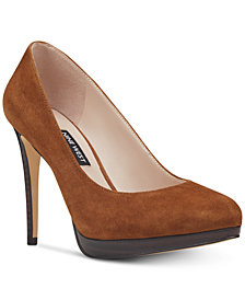 Nine West Quabree Platform Pumps