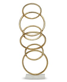 Two's Company Rings Sculpture