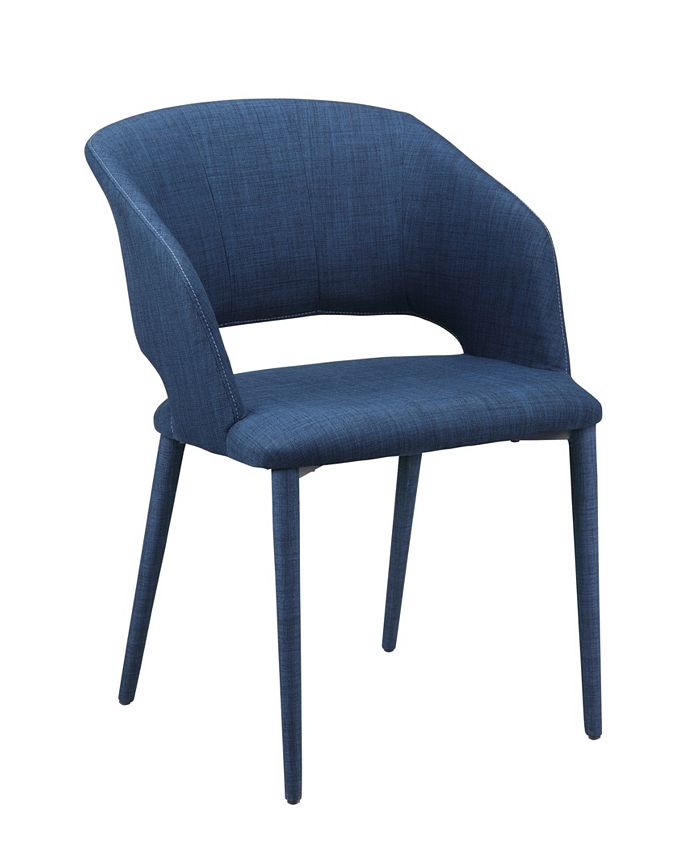 Moe's Home Collection - WILLIAM DINING CHAIR NAVY BLUE