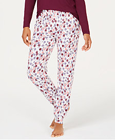 Charter Club Printed Pajama Jogger Pants, Created for Macy's