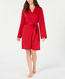 Charter Club Lightweight Short Wrap Robe, Created for Macy's