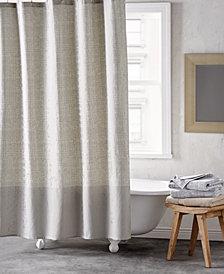 "DKNY Crossway Cotton 72"" x 72"" Shower Curtain"