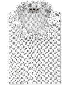 Kenneth Cole Reaction Men's Techni-Cole Slim-Fit Flex Collar Three-Way Stretch Performance Dress Shirt