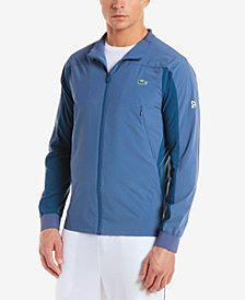 Lacoste Men's Novak Djokovic Off Court Water-Resistant Jacket