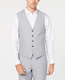 I.N.C. International Concepts Men's Classic-Fit Grey Vest, Created for Macy's
