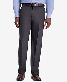 J.M. Haggar Men's Premium Classic-Fit 4-Way Stretch Dress Pants