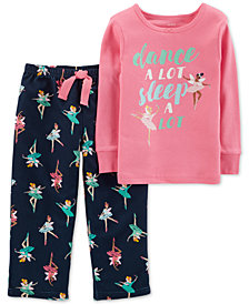 Carter's Toddler Girls 2-Pc. Ballerina Pajama Set