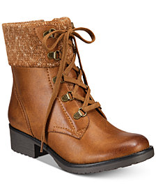Baretraps Orley Lace-Up Booties