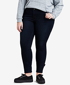 Levi's® Plus Size 711 Stretch Bow Ankle Jeans