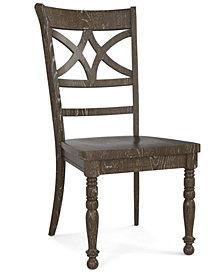 Custom Dining Diamond Back Side Chair