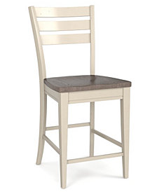 Custom Dining Contemporary Counter Stool