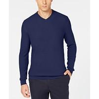 Macys deals on Tasso Elba Mens Seed-Stitched Supima Cotton Sweater