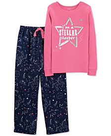 Carter's Little & Big Girls 2-Pc. Constellation Pajama Set