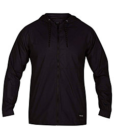 Hurley Men's Pistol River Full-Zip Hooded Jacket