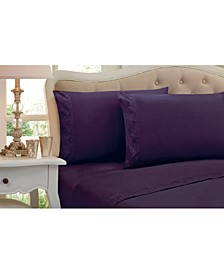 New Leaf Queen 4 Pc Sheet Set