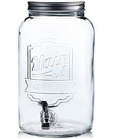 Main Street 2-Gallon Embossed Beverage Dispenser