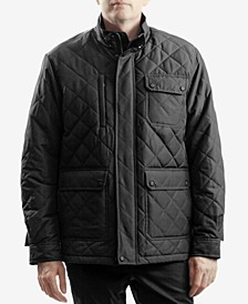 Men's Cavell Diamond Quilted Filed Coat