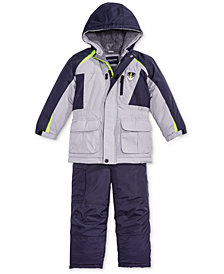 London Fog Toddler Boys Colorblocked Jacket & Pants Snowsuit