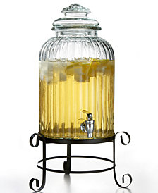 Jay Imports Springfield Beverage Dispenser with Rack