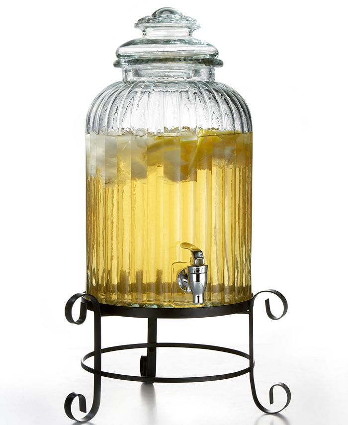 Jay Imports - Springfield Beverage Dispenser with Rack