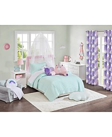 Urban Dreams Liliana  Quilt Mini Set Full/Queen, Created for Macy's