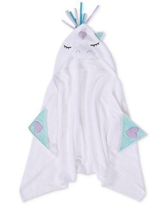 Liliana Cotton Hooded Bath Towel, Created for Macy's
