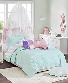 CLOSEOUT! Liliana Quilt Mini Set Twin, Created for Macy's
