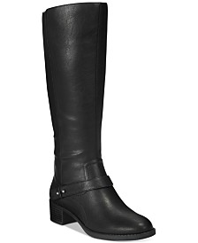 Easy Street Jewel Wide-Calf Riding Boots