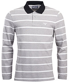 Barbour Men's Lineout Striped Long-Sleeve Polo