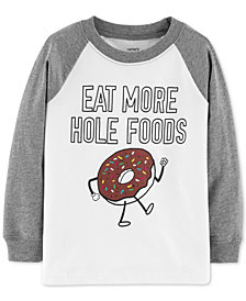 Carter's Toddler Boys Hole Foods Graphic Cotton Shirt