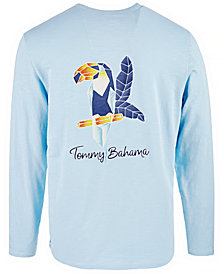Tommy Bahama Men's Toucan Long-Sleeve Graphic T-Shirt