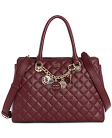 GUESS Victoria Luxury Chain Satchel