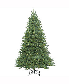 7.5' Dixon Mixed Pine Artificial Christmas Tree with 800 Warm White LED Lights
