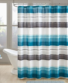 "510 Design Wallace 72"" x 72"" Printed Shower Curtain"