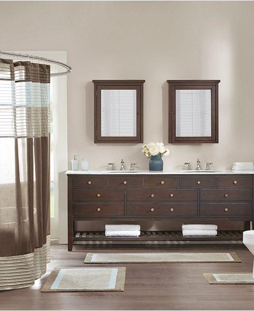 Madison Park Amherst 24 X 60 Bath Rug Bath Rugs Bath Mats