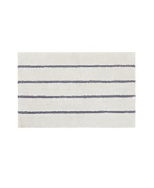 Madison Park Adrien Cotton Tufted Stripe Bath Rugs