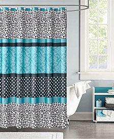"Mi Zone Chloe 72"" x 72"" Microfiber Shower Curtain"