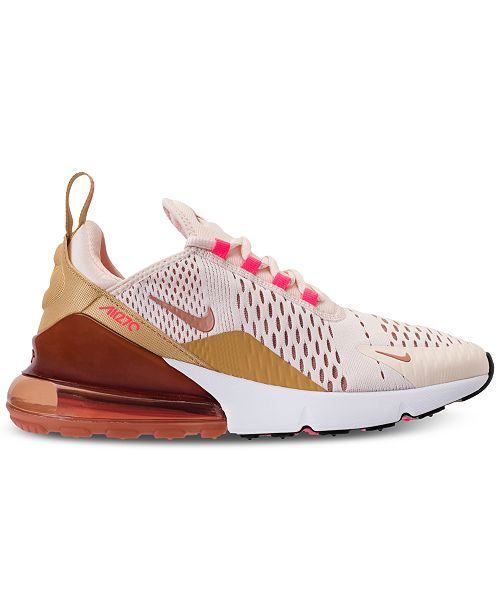 official photos 1be51 e9fa9 Nike Women's Air Max 270 Casual Sneakers from Finish Line ...