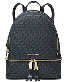MICHAEL Michael Kors Signature Rhea Zip Medium Backpack