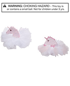 On the Verge Little & Big Girls 2-Pk. Unicorn Hair Clips