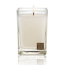 Aromatique White Teak Cube Candle