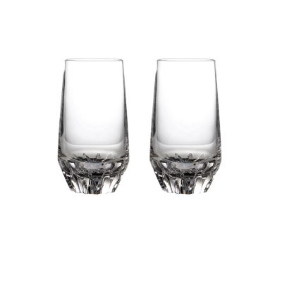 Irish Dogs Madra Hiball Glass Pair