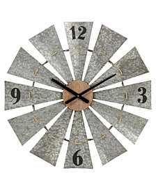 Zandra Metal Wall Clock